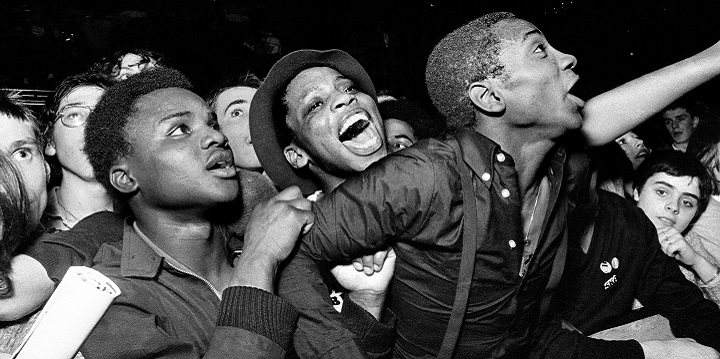 See our online exhibition - Syd Shelton: Rock Against Racism