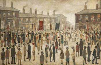 Photo: Lowry painting