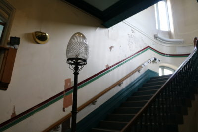 Stairwell image courtesy of James Robertson