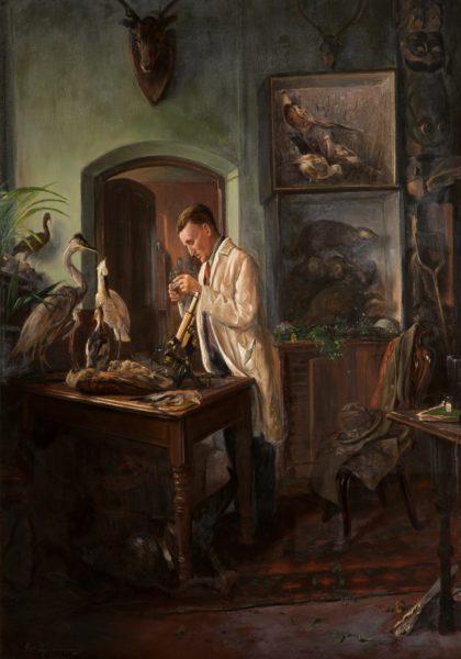 Portrait of The Naturalist