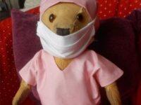 Auriel's keyworker teddy