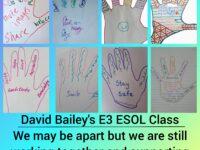 E3 ESOL class collage