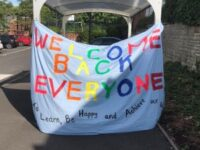 Alexandra Park welcome back banner