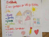 Ameera's gratitude poster