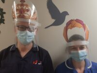 Visors at the Royal Oldham Hospital
