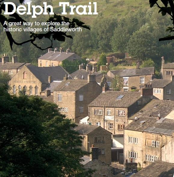 Picture of Delph village.
