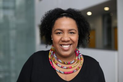 Independent curator Louisa Egbunike