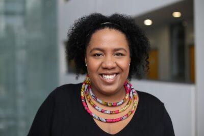 Independent curator Louisa Egbunike
