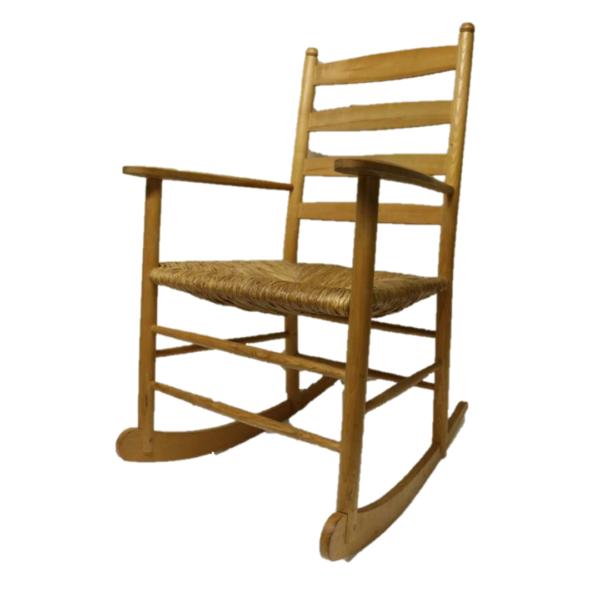 Rocking Chair made by Saddleworth furniture maker John Whittaker