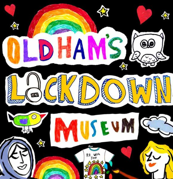 Oldham's Lockdown Museum logo